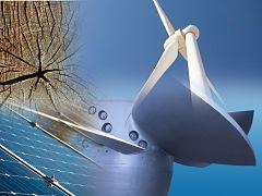 Autonomie energetique, production d energie et d electricite via les panneaux solaires et les éoliennes