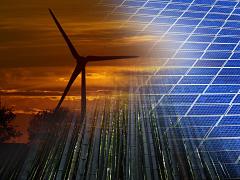Energies renouvelables, la capacite mondiale couverte par l energie solaire et l eolien