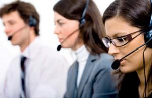 Photo d opérateurs pour le service clientèle